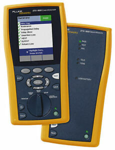Fluke-DTX-1800-Netzwerktester-Cat-7-900MHZ-DTX-1800-Cable-Analyzer