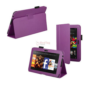 Case Cover for Amazon Kindle Fire HD 7 Tablet Purple New | eBay