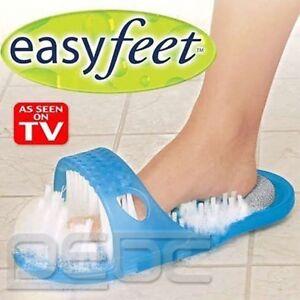 Foot feet massage bath shower easy health scrubber brush clean as seen