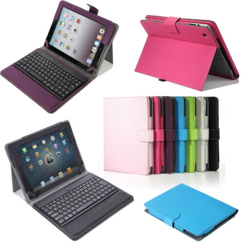 For Apple New iPad 3rd 4th 2nd Stand Leather Case Cover With Bluetooth Keyboard in Computers/Tablets & Networking, iPad/Tablet/eBook Accessories, Cases, Covers, Keyboard Folios | eBay
