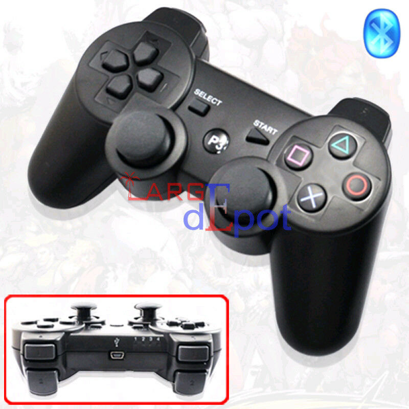 For Sony PS3 6 Axis DualShock Wireless Bluetooth Game Controller