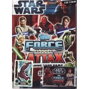 Force-Attax-Star-Wars-Serie-3-Starter-Set-Sammelmappe-Sammelalbum-Album-NEU-OVP