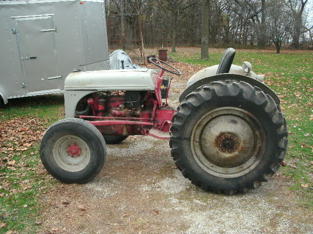 Ford 8n Tire : Ford jubilee tractor wiring diagram