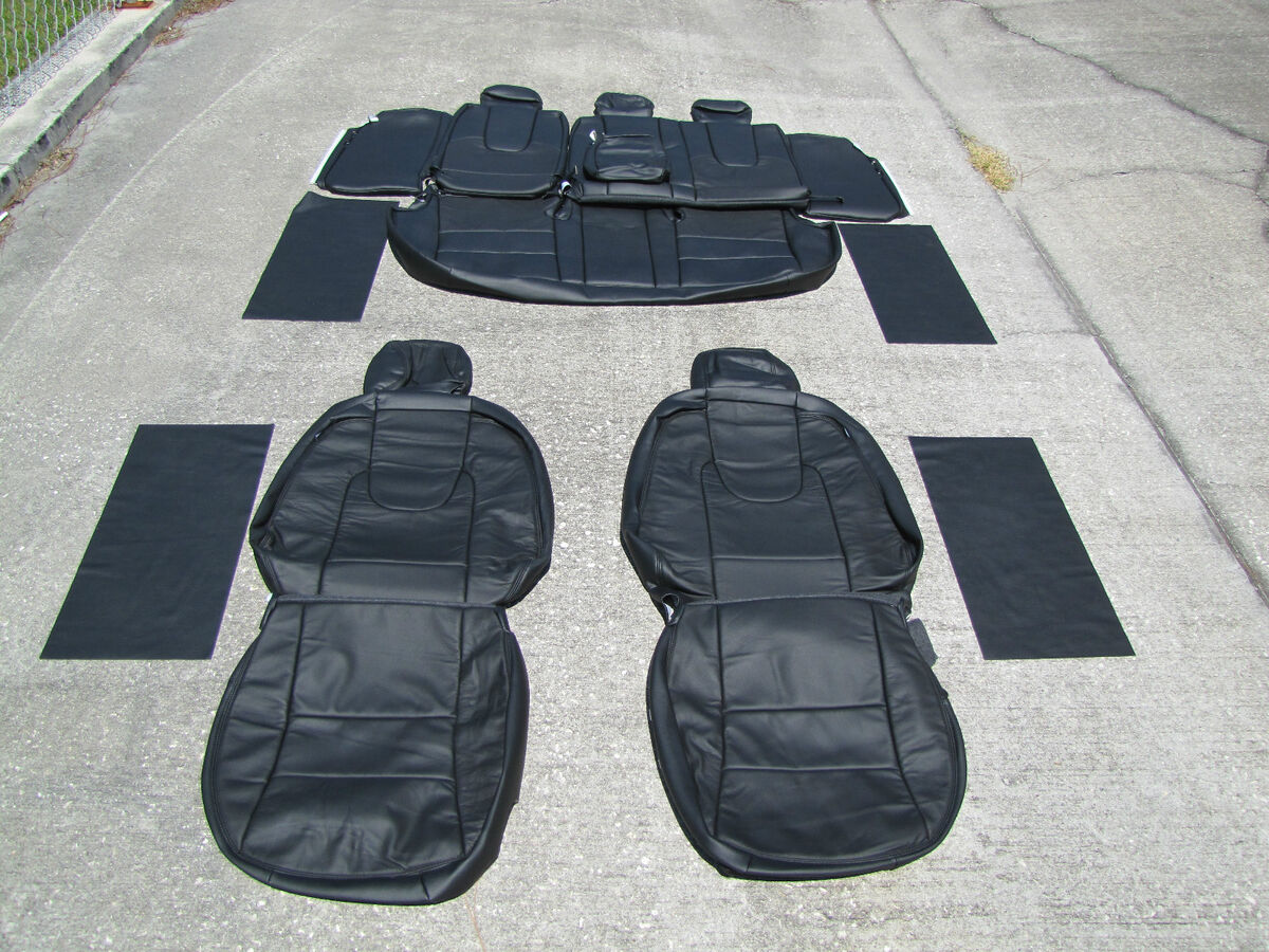 ford fusion se sel leather seat covers seats interior 2010 black. Black Bedroom Furniture Sets. Home Design Ideas