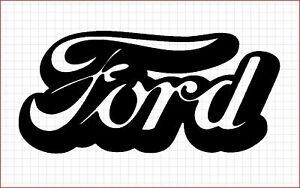 Ford Script CNC Plasma DXF Clip Art | eBay