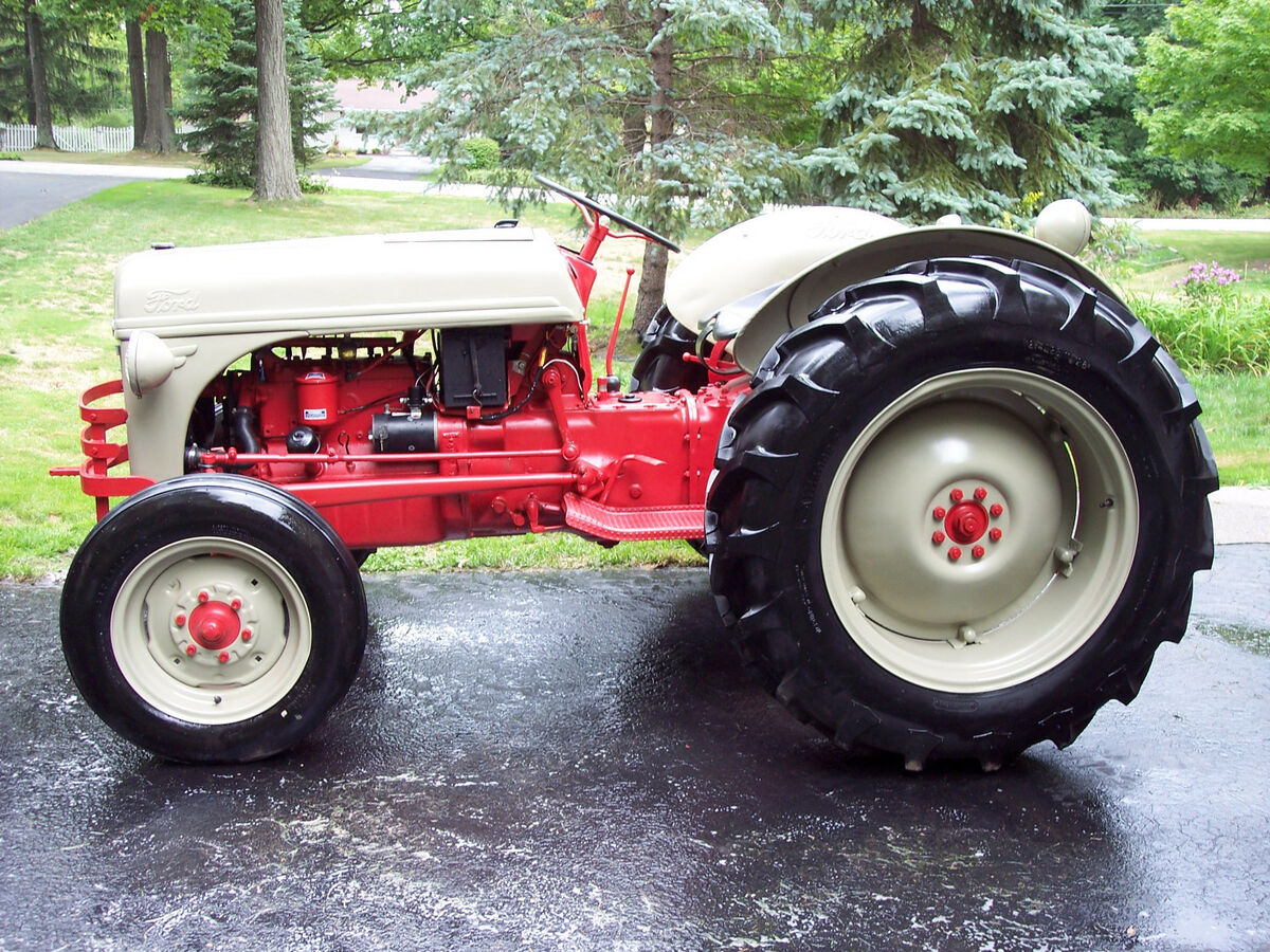 Ford 8n Tractor Front Tires : Tires and rims ford tractor