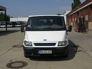 ford transit bus 8 sitzer ebay. Black Bedroom Furniture Sets. Home Design Ideas