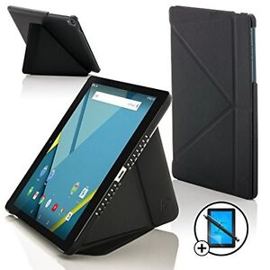 Forefront-Huelle-Schwarz-Origami-Smart-Huelle-HTC-Google-Nexus-9