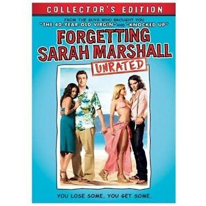 Forgetting Sarah Marshall (DVD, 2008, 3-...
