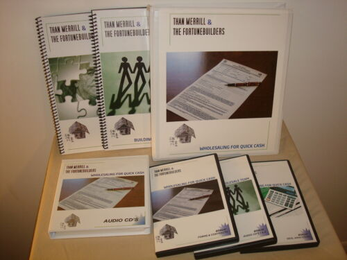 Fortunebuilders Than Merrill Real Estate Wholesaling Properties for Quick Cash in Everything Else, Career Development & Education, Real Estate | eBay