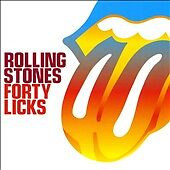 Forty Licks by The Rolling Stones (CD, S...