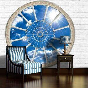 Foto fototapeten tapete tapete fototapete himmel blau - Fototapete blau ...