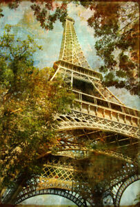 fototapete bildtapete eifel turm paris 170x250cm bilder aufkleber bord ren ebay. Black Bedroom Furniture Sets. Home Design Ideas