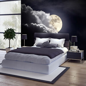fototapete vlies mond tapete tapeten fototapeten f r. Black Bedroom Furniture Sets. Home Design Ideas