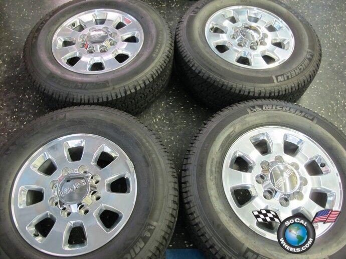 11 12 GMC Sierra Denali 2500 3500 Factory 18 Wheels Tires OEM Rims