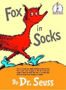Fox in Socks by Dr. Seuss (1965, Hardcov...