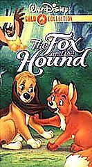 The Fox and the Hound (VHS, 2000, Gold C...