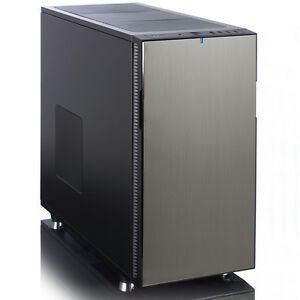 fractal design define r5 titanium schallged mmt usb 3 0 pc geh use gamer ebay. Black Bedroom Furniture Sets. Home Design Ideas