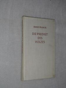 Franck-Hans-Die-Predigt-des-Holzes-Novelle