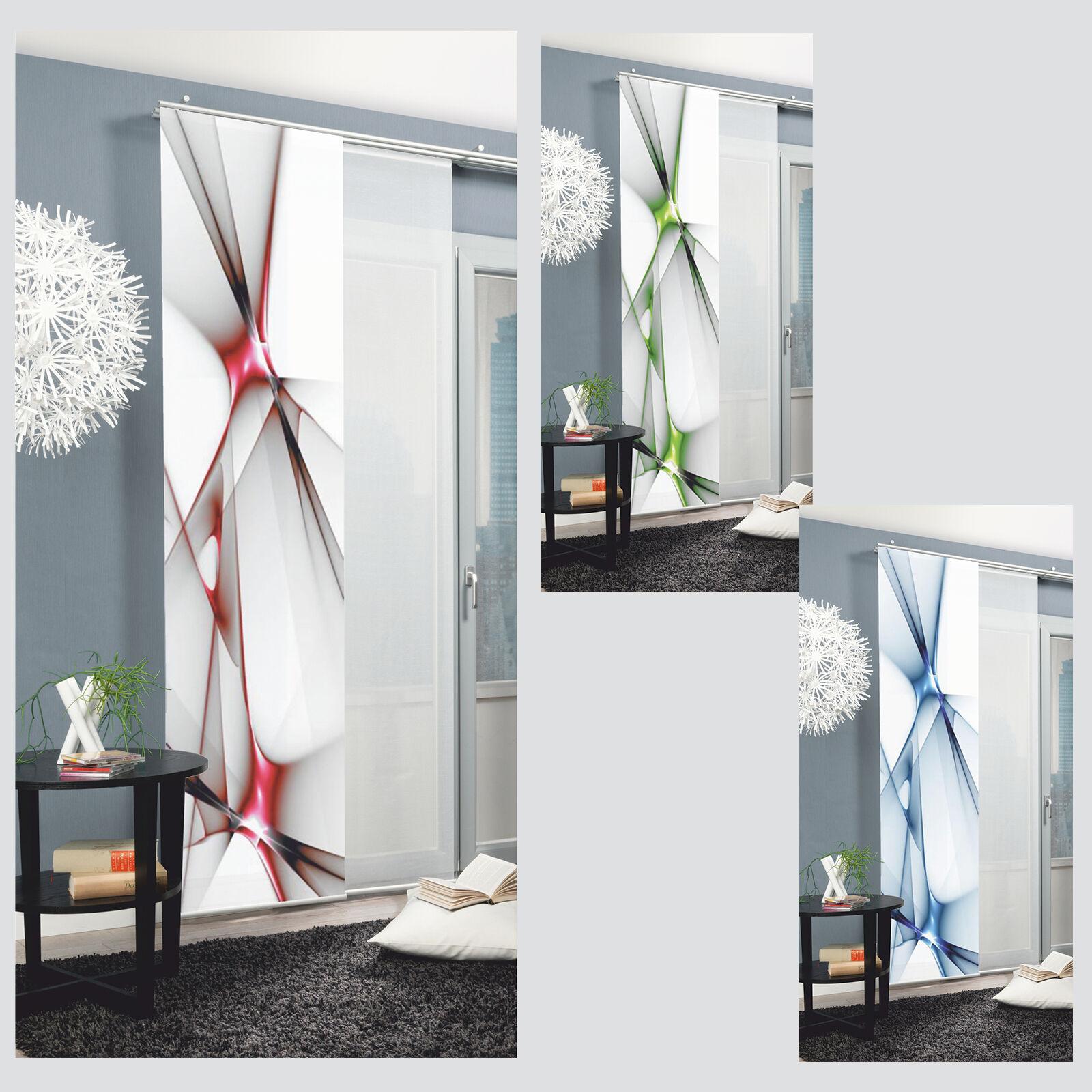 Franklin Schiebevorhang Schiebegardine Raumteiler Digital Home Wohnideen  Schmidt   EBay