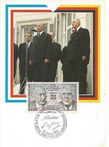 Frankreich-Maximumkarte-Staatsvertrag-aus-dem-Jahr-1988