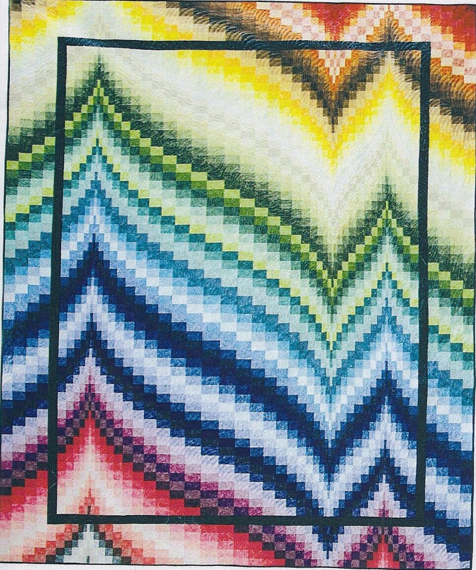 Freckles Frenzy Bargello Quilt Pattern by Patti Carey