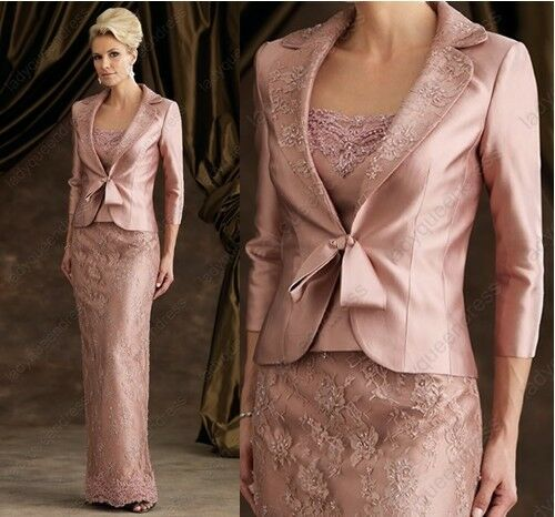 Elegant Mother Of Bride Wedding Evening Formal Dress