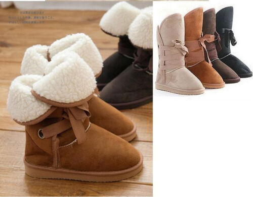 Free ship!All Size/4color/New Fashion Women Girls Winter Warm Snow Boots Shoes in Clothing, Shoes & Accessories, Women's Shoes, Boots | eBay