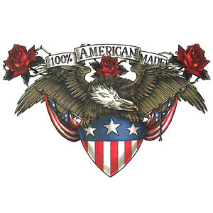 Freedom Ink Temporary Tattoo 100 American Made Seal Eagle ...