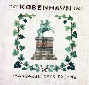 Fremme-800-Jahre-Kobenhavn-Kopenhagen-1167-1967-danish-cross-stitch