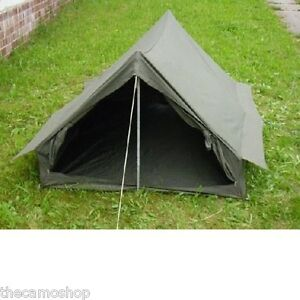... military-two-man-tent-army-surplus-tent-camping-fishing-outdoors
