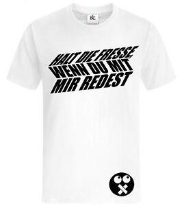 Fresse T - shirt,sprüche,party,dumm mach,Film,fun,lustig,s