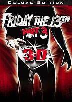 Friday the 13th - Part 3 (DVD, 2009, Del...