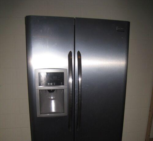 Frigidaire Gallery Side-by-Side Counter-Depth Refrigerator Stainless Steel in Home & Garden, Major Appliances, Refrigerators & Freezers | eBay