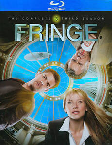 Fringe: Season 3 (Blu-ray Disc, 2011, 4-...