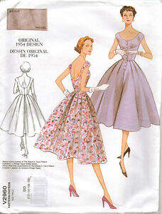 From-UK-Sewing-Pattern-1950s-Retro-Dress-12-18-2960