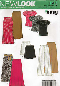 From-UK-Sewing-Pattern-Pants-Tops-Skirt-6-24-6762