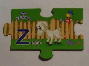 Fruchtzwerge-Magnet-2014-Z-Ziege-Tiermagnete-Tiere-Puzzle-NEU-Magnete