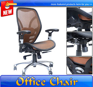 on Mesh Ergonomic Office Chair Seat Desk Computer Task Chairs Ebay
