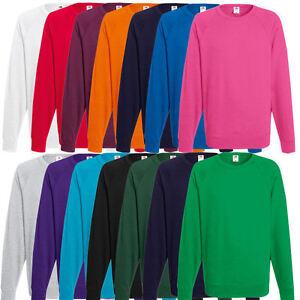 Fruit-of-the-Loom-Herren-Sweatshirt-Pullover-Sweat-S-M-L-XL-XXL