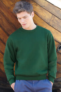 Fruit-of-the-Loom-Sweatshirt-Pullover-ohne-Kapuze-S-M-L-XL-XXL-XXXL-3XL
