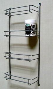 fuchs gew rzregal regal metall silber f r 12 gew rzdosen ab 30 cm schrank ebay. Black Bedroom Furniture Sets. Home Design Ideas