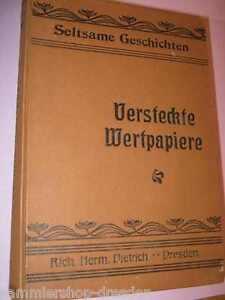 Fuerstenbrueck-C-Versteckte-Wertpapiere-Erzaehlungen