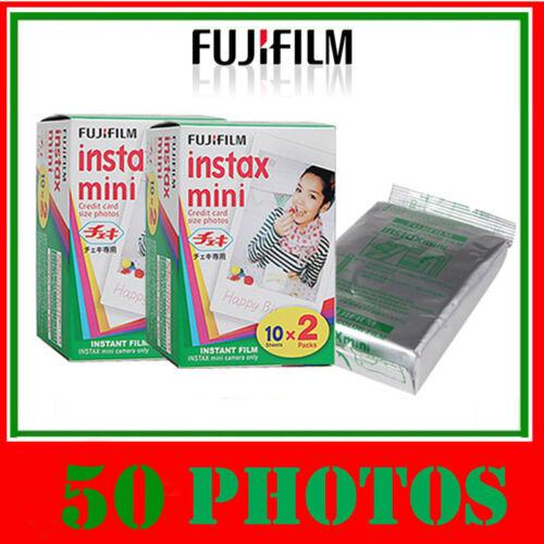 Fuji Instax mini film 50photos Made In Japan NEW FUJIFILM / Polaroid 300 in Cameras & Photo, Film Photography, Film | eBay