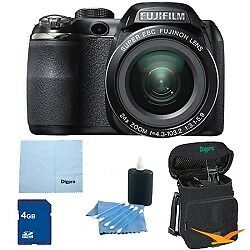 Fujifilm FinePix S4200 24x Optical Zoom 14 MP 3 inch LCD Digital Camera 4 GB Bun in Cameras & Photo, Digital Cameras   eBay