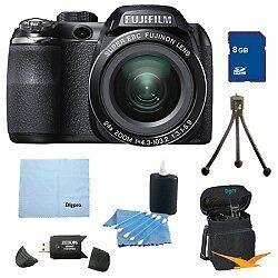 Fujifilm FinePix S4200 24x Optical Zoom 14 MP 3 inch LCD Digital Camera 8 GB Bun in Cameras & Photo, Digital Cameras   eBay