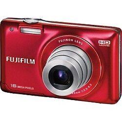 Fujifilm Finepix JX580 16MP Digital Camera with 5x Optical Zoom Lens (Red) in Cameras & Photo, Digital Cameras   eBay