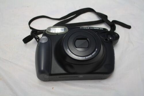 Fujifilm Instax 210 Instant Film Camera - Black - Perfect Condition!!! in Cameras & Photo, Film Photography, Film Cameras | eBay