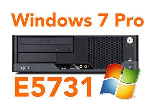 Fujitsu-Esprimo-5731-2-9GHz-4GB-RAM-250GB-HDD-Windows-7-Pro-DVD-Brenner-A-Ware