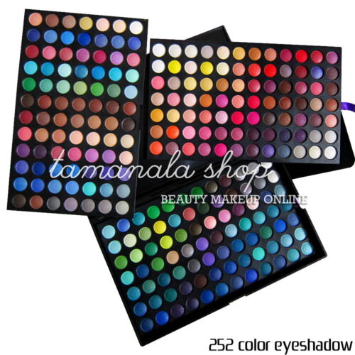 Full 252 Color Shimmer Matte Eyeshadow Makeup Cosmetic Pro Palette Party Wedding in Health & Beauty, Makeup, Eyes | eBay